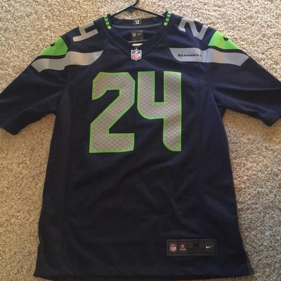 NFL Nike Seattle Seahawks jersey Lynch #24